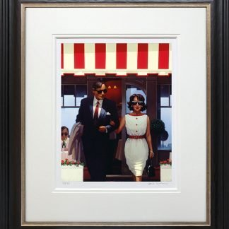 Lunchtime Lovers Framed jack vettriano